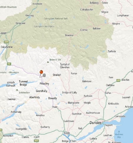 Killiecrankie_map